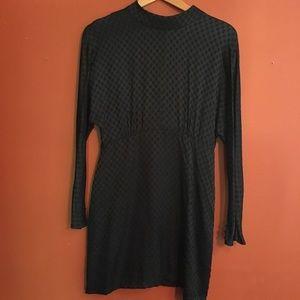 Zara polka dot mini dress M